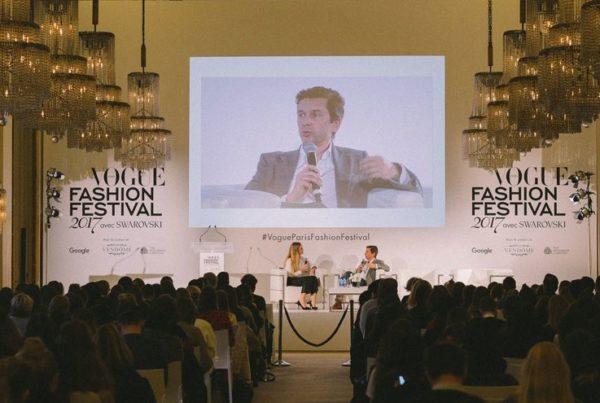 Sericyne au Vogue Fashion Festival