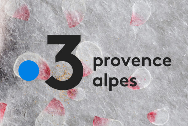 Sericyne est passée sur France 3 Provences Alpes pour sa soie d'exception
