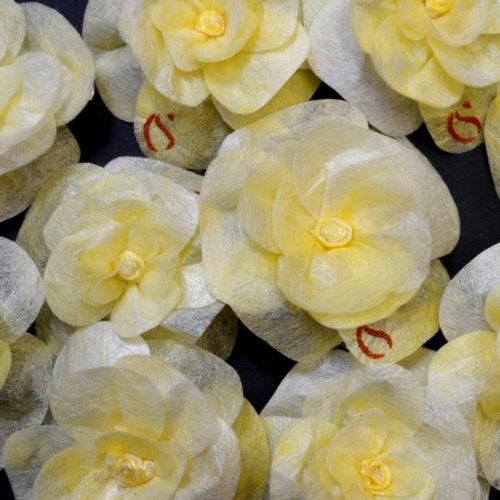 Roses en soie d'exception Sericyne
