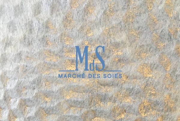 Sericyne au Marché des soies de Lyon