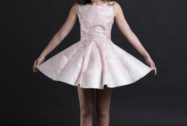 Sericyne la première robe 3D pour Marion de Castilla