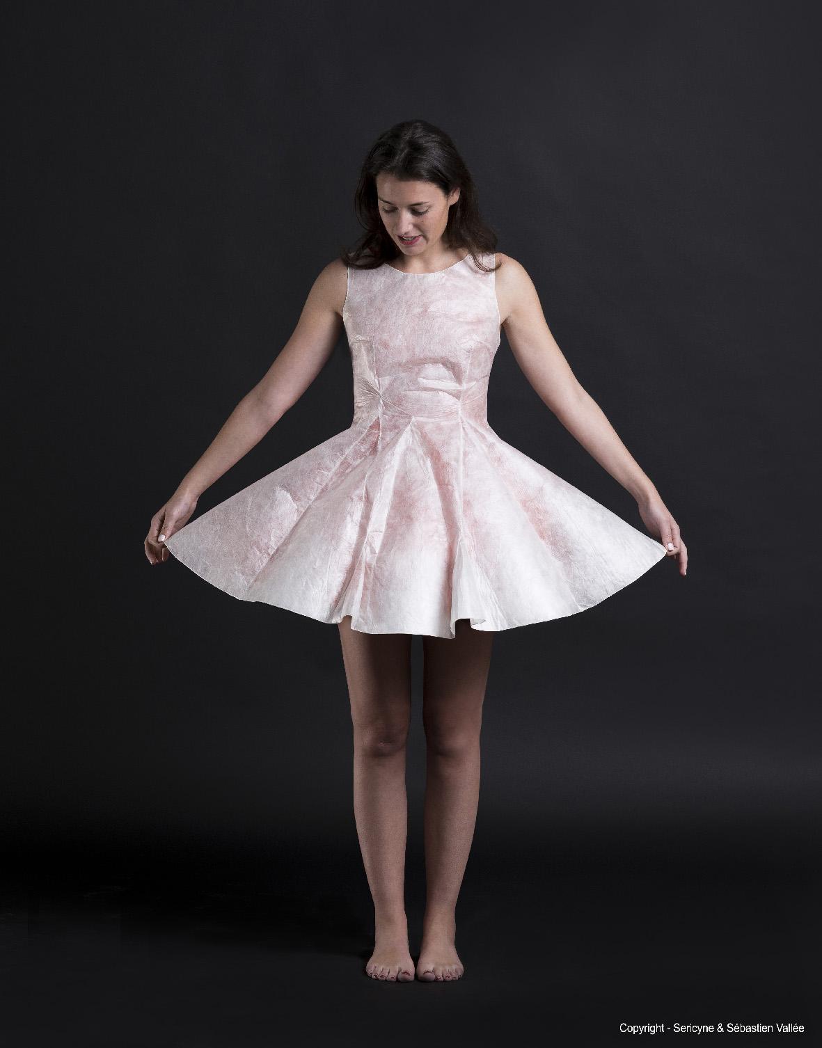 Sericyne x Marion de Castilla – La première robe 3D